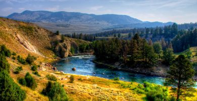 Beautiful Yellowstone National Park 390x200 - TEXT IN ENGLISH #030 - YELLOWSTONE NATIONAL PARK