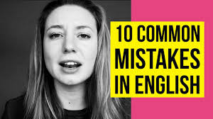 oloquinho - 10 Extremely Commun Mistakes in English