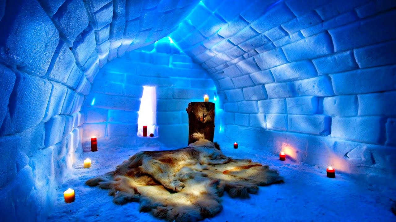 ICE HOTEL - TEXT 001 - THE ICE HOTEL